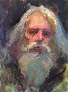 Daniel F. Sketch Painting, Figure Painting, Beard Art, Art Folder, Classic Paintings, Traditional Paintings, Ancient Art, Portrait Art, Painting Techniques