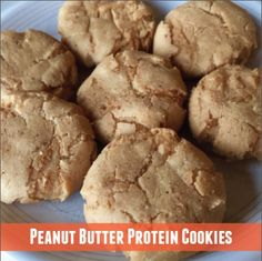 What do you do when life hands you a free peanut butter cookie protein sample? You make peanut butter protein cookies of course!