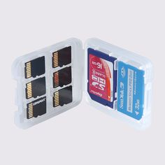 8 in1 Hard Micro SD SDHC TF MS Memory Card Storage Box Protector Holder Case XJY in Cameras & Photo, Camera & Photo Accessories, Memory Card Cases   eBay