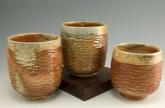 Simon Van Der Ven | Carved, wood-fired cups.
