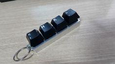 cherry mx switch key chain