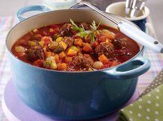 Suppen und Eintöpfe eignen sich perfekt um eine große Anzahl Gäste satt zu machen>> Mitternachtssuppe - die Partysuppe Nr. 1 - mitternachtssuppe-b Rezept