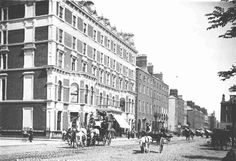 years gone by. Old Pictures, Old Photos, Vintage Photos, Shelbourne Hotel, Photo Engraving, Dublin City, Dublin Ireland, Book Of Life, Historical Photos