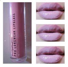 Lavender lips #lipgloss #lilac