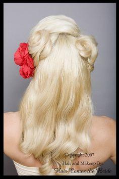 Pin Up hair - back
