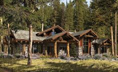 My dream house is a log cabin...love this design...