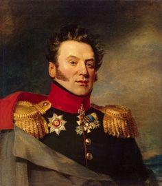 Le General-Major Konstantin Markovich Poltoratsky commande une brigade russe à Champaubert.10 février 1814 Encerclé dans la plaine, à court de munitions, il est capturé par les cavaliers français.
