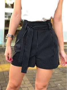 Shorts-Mada summer outfits for teens fashions