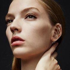 Ear Wrap Crawler Hook Earrings Unique Earrings, Statement Earrings, Pearl Earrings, Fashion Accessories, Fashion Jewelry, Jewelry Accessories, Reign Dresses, Girly Things, Cool Things To Buy