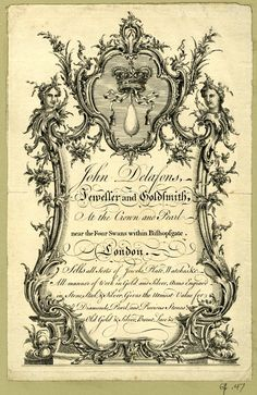 Jeweler in 18TH Century