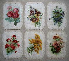 c1900 Antique Catherine Klein Calendar Print s Buy now at Victorian Rose Prints on rubylane.com