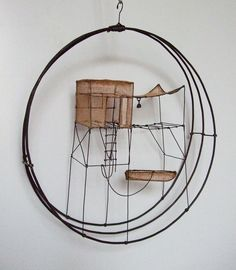 Beautiful wireworks by Isabelle Bonte
