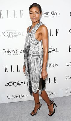 Naomie Harris attends ELLE's 20th Annual Women in Hollywood Celebration at the Four Seasons Hotel Los Angeles at Beverly Hills on October 21, 2013 in Beverly Hills, California.