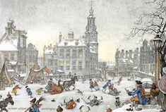 Anton Pieck. Зимние праздники в сказочном городе. - ИДIОТЪ ДОСТОЕВСКАГО