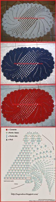 Crochet And Knitting Crochet Stone, Crochet Mat, Crochet Carpet, Crochet Needles, Thread Crochet, Love Crochet, Filet Crochet, Crochet Doilies, Doily Patterns