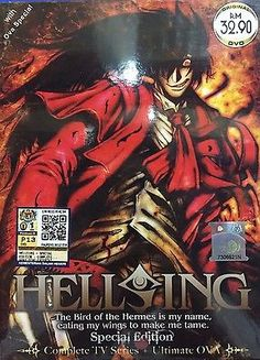 HELLSING Special Edition Complete TV Series Ultimate OVA English Version DVD