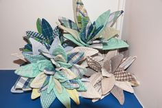 Succulentes tissus chemises recyclées