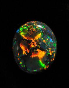 Australian Black Opal
