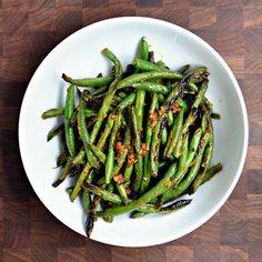 Grilled Green Beans with Cumin and Smoked Paprika - Pinch and Swirl