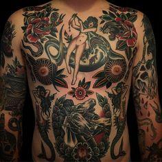 Tattooed on the talented @kevikins #spidermurphys