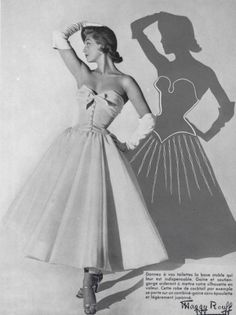 1954 Maggy Rouff dress