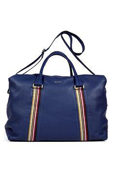 Blue Calf-Leather Bag