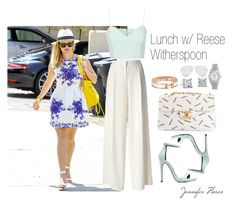 """""""Lunch w/ Reese Witherspoon"""" by jenniferfls on Polyvore"""