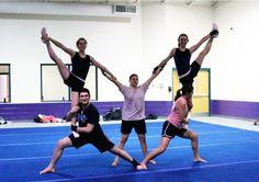 little m stunt - Asbury Tumbling Team