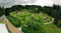 Day trip to Konopiste Caste in Czechia. A beautiful walk in the summer garden in the former home of King Ferdinand.