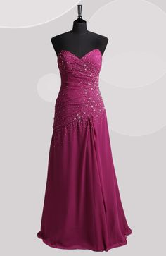 Floor-length A-line Sweetheart Strapless Prom Dresses  Style Code: 06592  US$119.00  #promdress