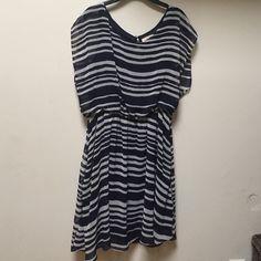 Summer Dress 🔥 👑Woren Once w/ under skirt 👑 ⭐️Make an Offer!⭐️ 💚Bundle for better price💚 Lush Dresses Midi