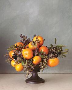 こっくりとした深い色が素敵を演出! ~秋色フラワーアレンジメント~