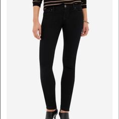 The Limited 917 Stretch Jeans- Black Denim ✨New with tags! Please see third photo for detailed description. Sorry,NO trades. The Limited Jeans
