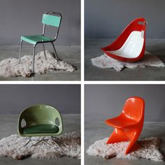 Awesome vintage chairs for kids!