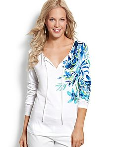 Iolani Floral Knit Top