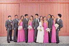 Photography: Caroline Joy Photography - carolinejoy.com Flowers: Saint Germain Flowers - sgflowers.com/ Event Coordination, Catering + Decor: Event Professionals - areyougettingmarried.com/  Read More: http://www.stylemepretty.com/california-weddings/los-angeles/2012/02/14/orcutt-ranch-wedding-by-caroline-joy-photography/