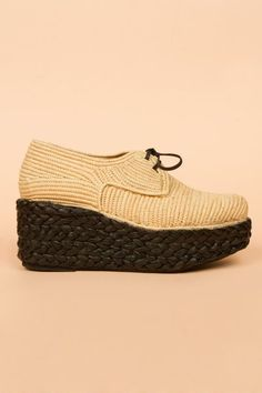 why can't i have these - carven straw toe wadges
