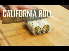 How to Make California Sushi Roll  (Fresh Shrimp Maki)