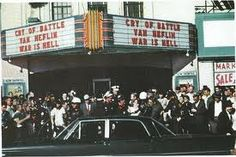 Outside of the Texas Theatre on Nov 22, 1963