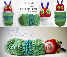 The very hungry caterpillar crochet outfit. LOVE this! Thanks Michelle for sharing it!