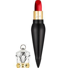 CHRISTIAN LOUBOUTIN Rouge Louboutin Velvet Matte Lip Colour - the ultimate luxury beauty stocking filler...