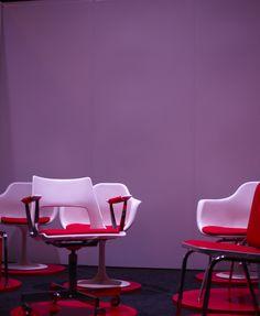 Take a stroll down memory lane with this vintage KI chair. Be sure to check out KI's new products at www.ki.com.