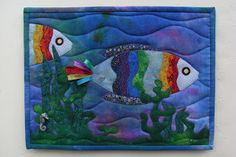 I have always been impressed with the colours (mainly blues) of the Rainbow Fish in the children's book, by Marcus Pfister, that I gave to o...