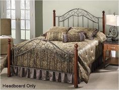 Hillsdale 1392BF Martino Bed Set - Full - Rails not included