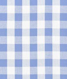"1"" Blue Gingham Fabric - by the Yard OnlineFabricStore.net http://www.amazon.com/dp/B00I80SFC4/ref=cm_sw_r_pi_dp_aTRVtb1WQ04JVYYK"