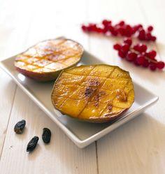Mangues rôties à la fève tonka, la recette d'Ôdélices : retrouvez les ingrédients, la préparation, des recettes similaires et des photos qui donnent envie !