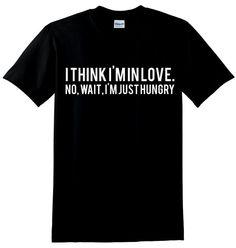 I Think I'm In Love Unisex T-Shirt by mazclothing on Etsy