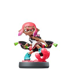 Nintendo Game SPLATOON 2  INKLING GIRL