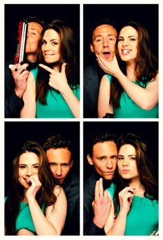 TOM HIDDLESTON AND HAYLEY ATWELL DID PHOTOS TOGETHER AND MY LIFE IS COMPLETE.