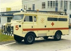 Tee-Side Airport Landrover Crash Rescue Ambulance